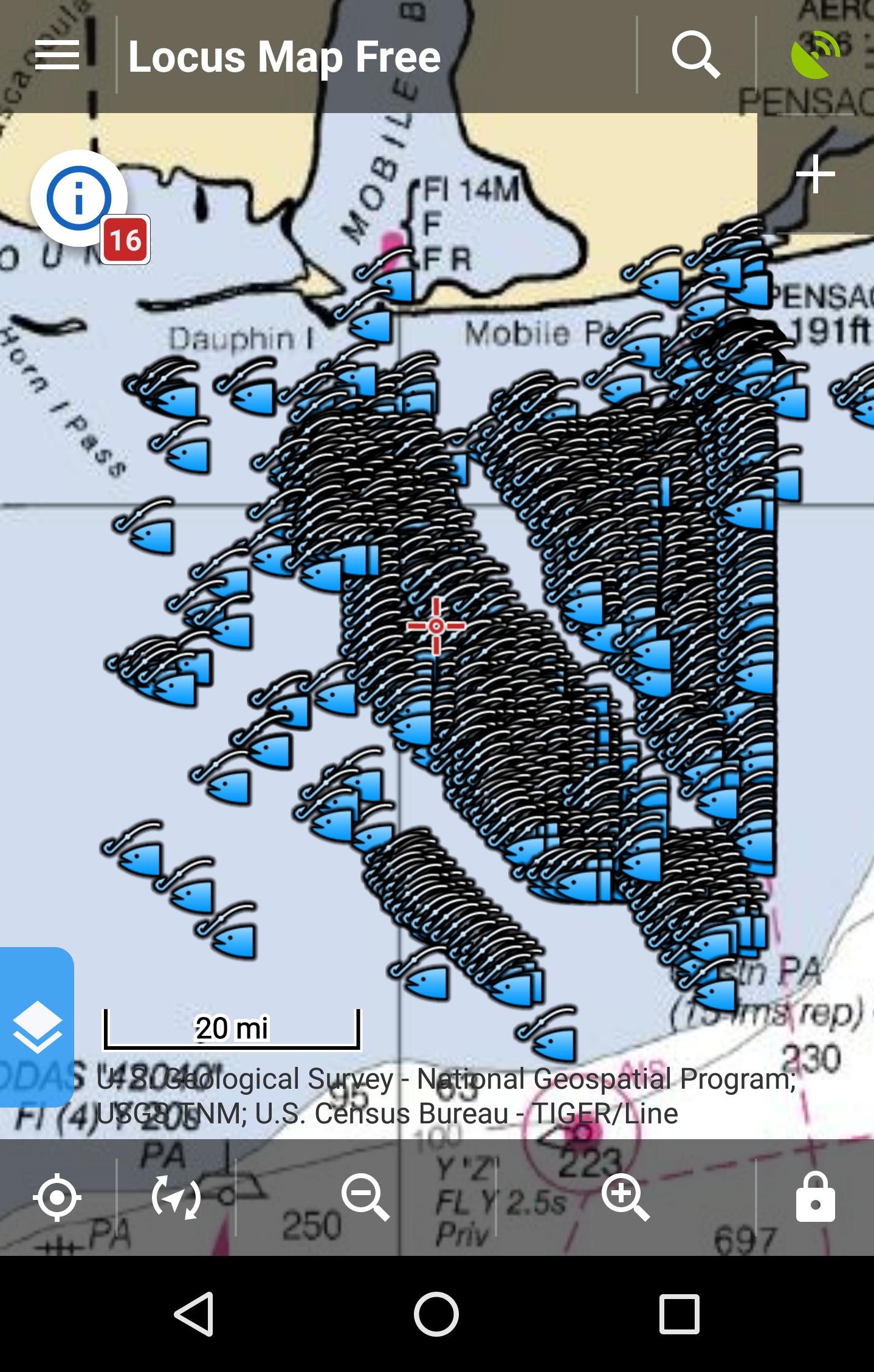 Alabama offshore fishing spots gulf gps fishing maps for Fishing in mobile al